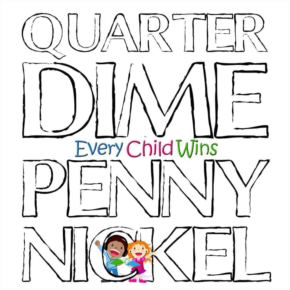 Quarter Dime Penny Nickel Cover