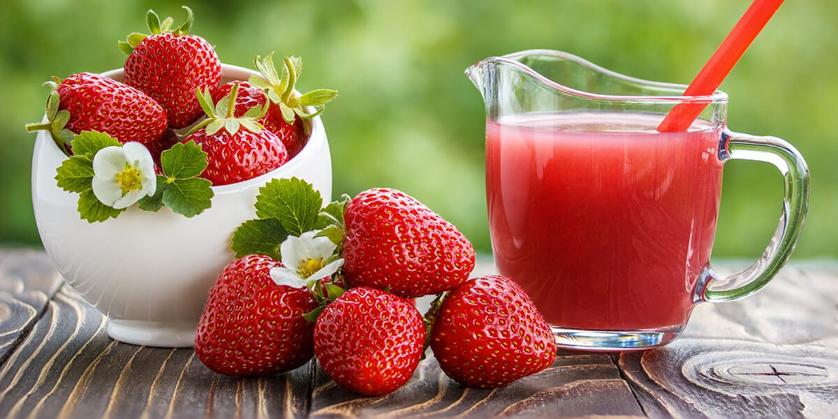 Strawberries - Healthy Snack Idea for Kids