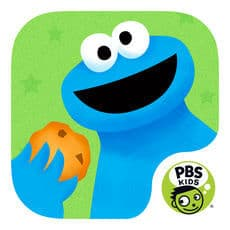 Best Educational Preschool Apps: Cookie Monster's Challenge