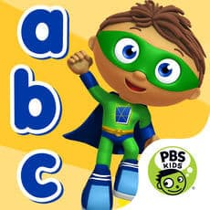 Best Educational Preschool Apps: SUPER WHY ABC Adventures: Alphabet for iPad