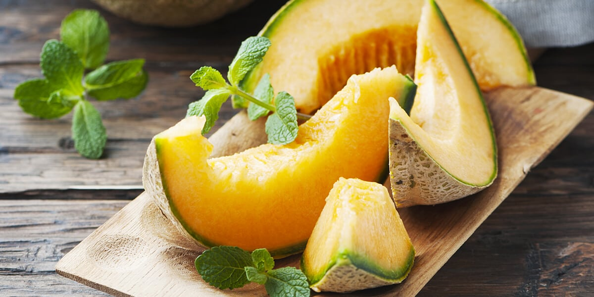 Healthy Food for Kids: Cantaloupes