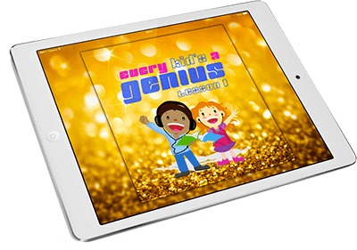 Every Kid's A Genius: Lesson 1 on iPad