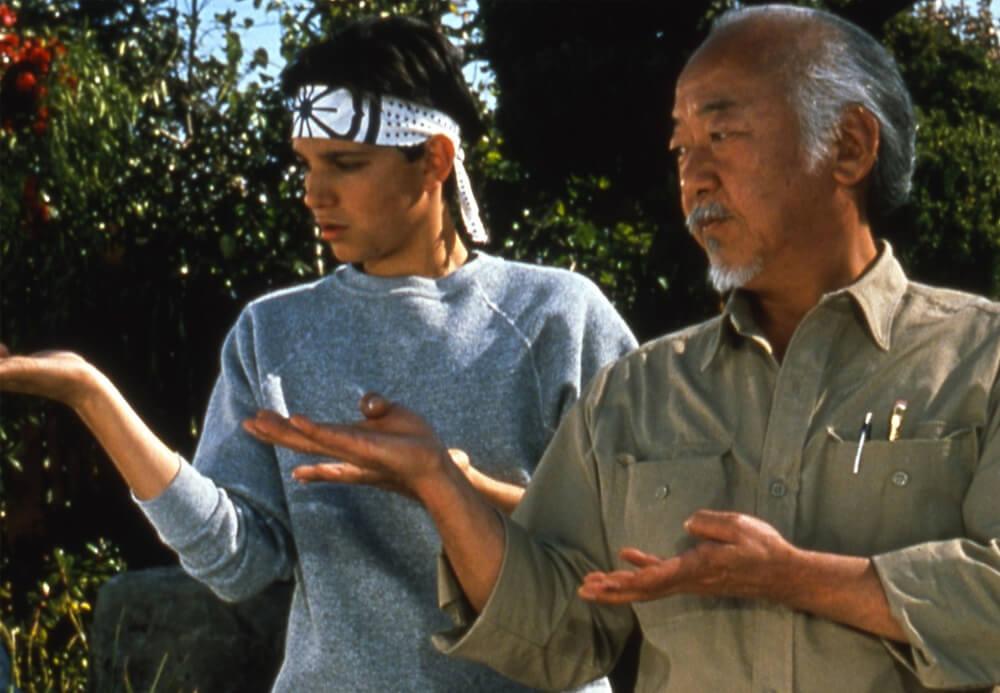 Mr Miyagi Parenting Quotes