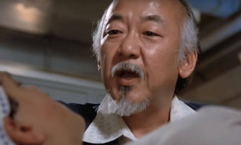 Mr. Miyagi Parenting Quote: Lie become truth only if person wanna believe it.