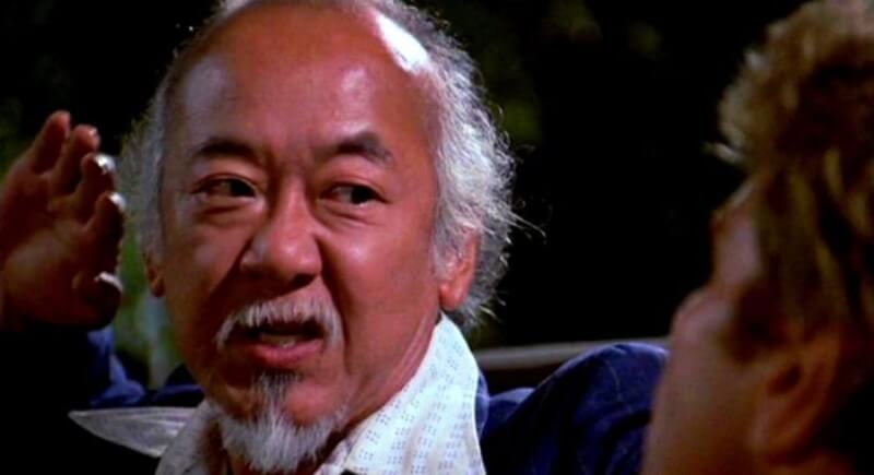 Mr. Miyagi Parenting Quote: No such thing as bad student, only bad teacher. Teacher say, student do.